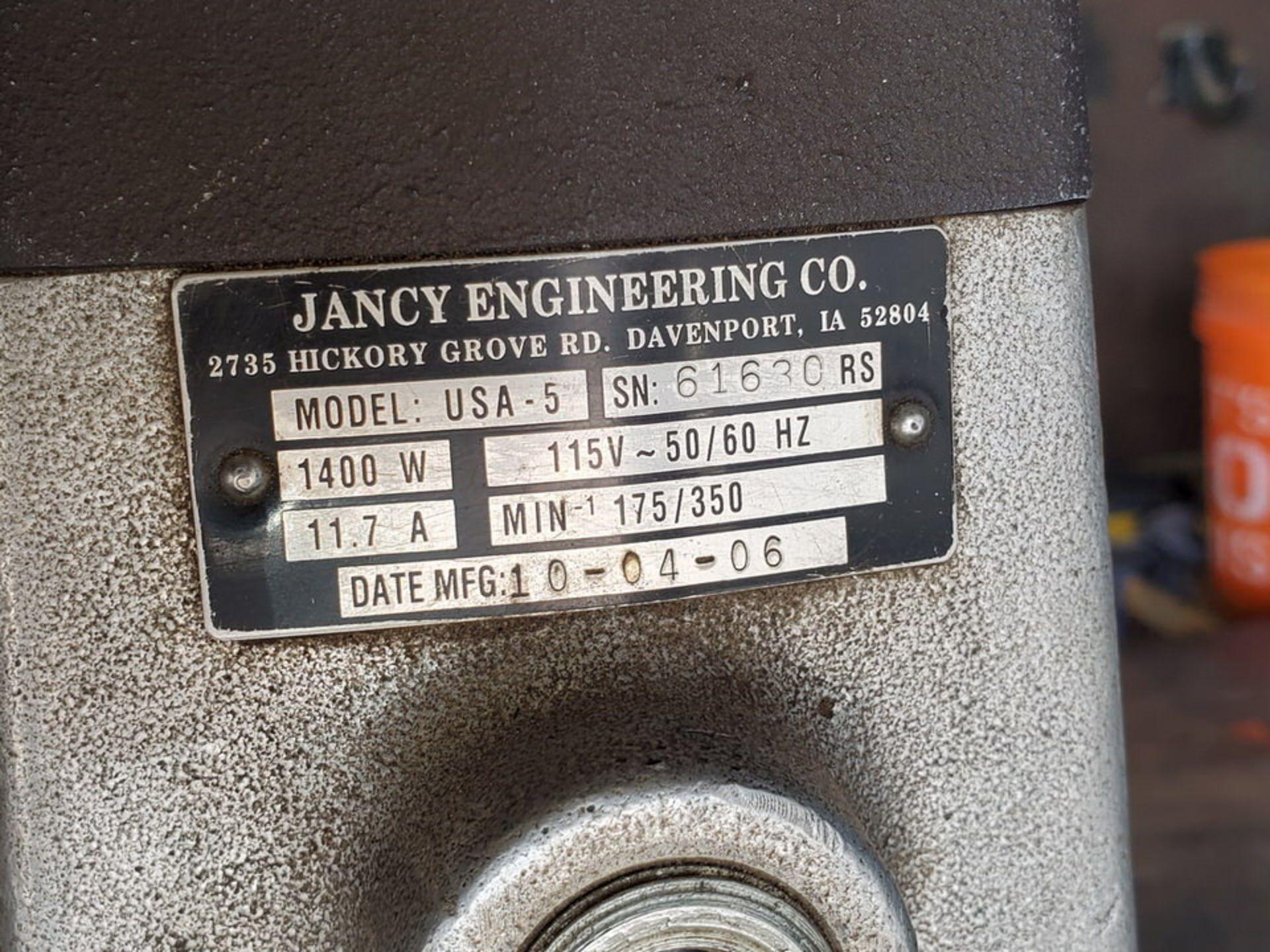 2006 Jancy Slugger USA-5 Mag Drill 115V, 11.7A, 50/60HZ, 1400W - Image 5 of 5