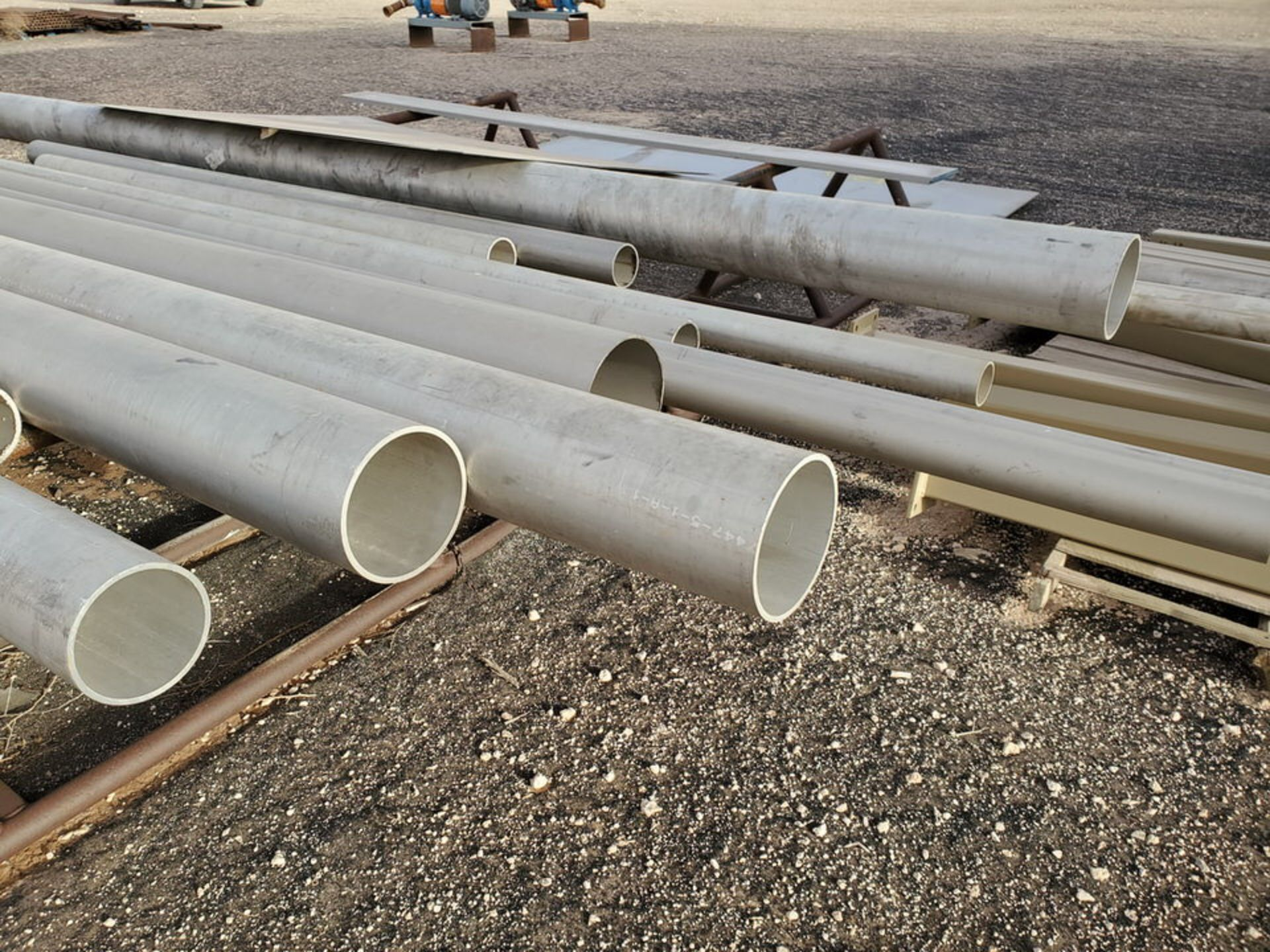 Assorted Matl. To Include But Not Limited To: S/S Flat Bar, Pipe & Sheets (Rack Excluded) - Image 17 of 22
