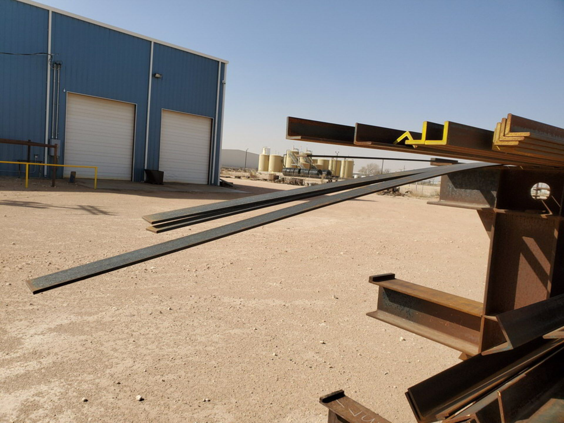 """(65) Angle, Pipe, Rect. Tubing & Other D: 3""""-4"""", L: 10' - 23'6""""; W/ Racks - Image 19 of 19"""