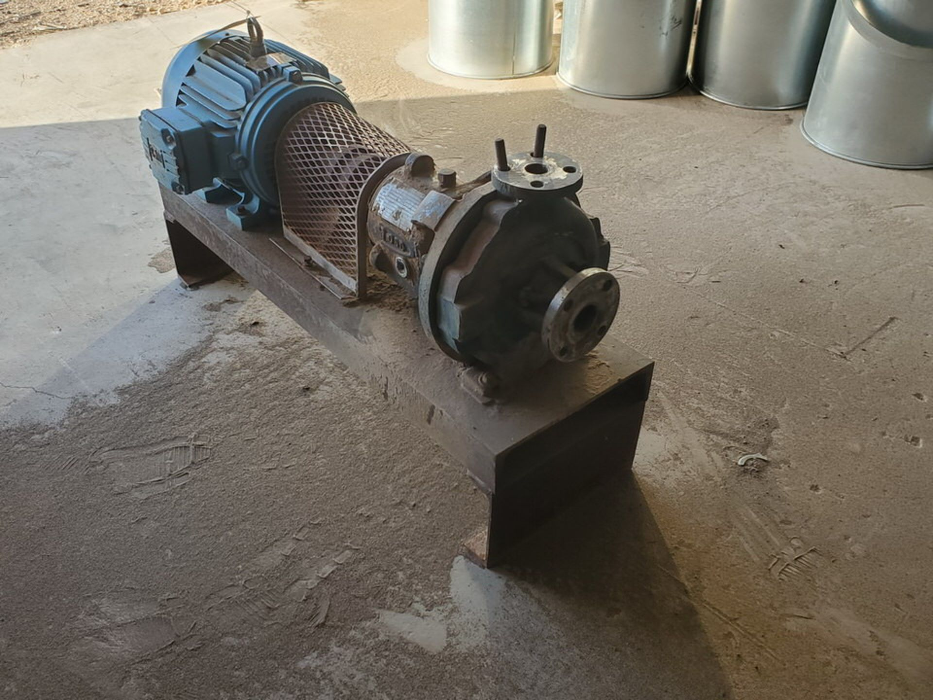 American-Marsh Pumps 1L1x1.5-6RV OSD Centrifugal Pump W/ 7.5HP Weg Motor - Image 4 of 9