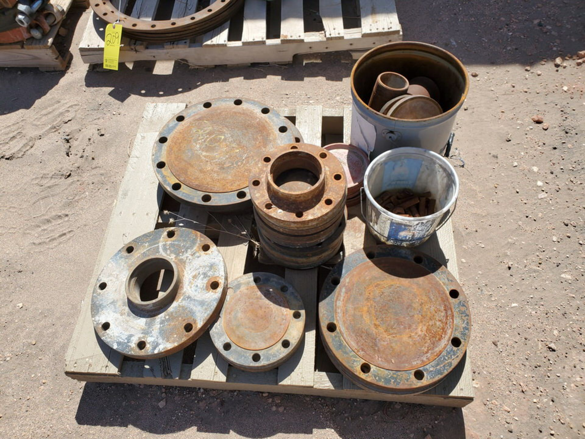 Assorted Fittings To Include But Not Limited To: Assorted Flanges, Caps, Couplings, etc.; Size - Image 4 of 14