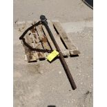 "Vulcan CT-15 2""-12"" Chain Pipe Shaft Wrench W/ 54"" Shaft"