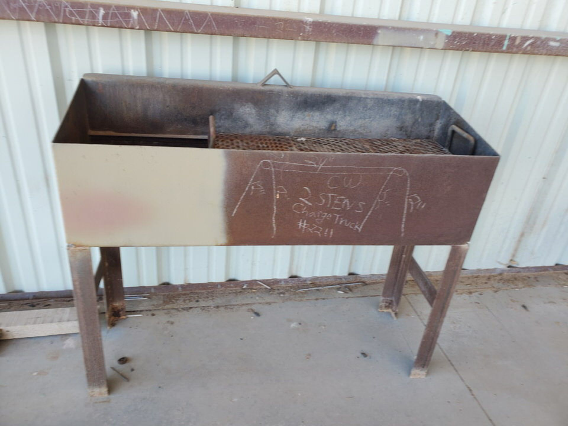 "Misc. Matl. To Include But Not Limited To: 42"" Drum Fan, Saw Horses, Welding Table, etc. - Image 10 of 10"