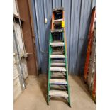(5) Alum. Platform Ladders (2)-8', (3) 6'