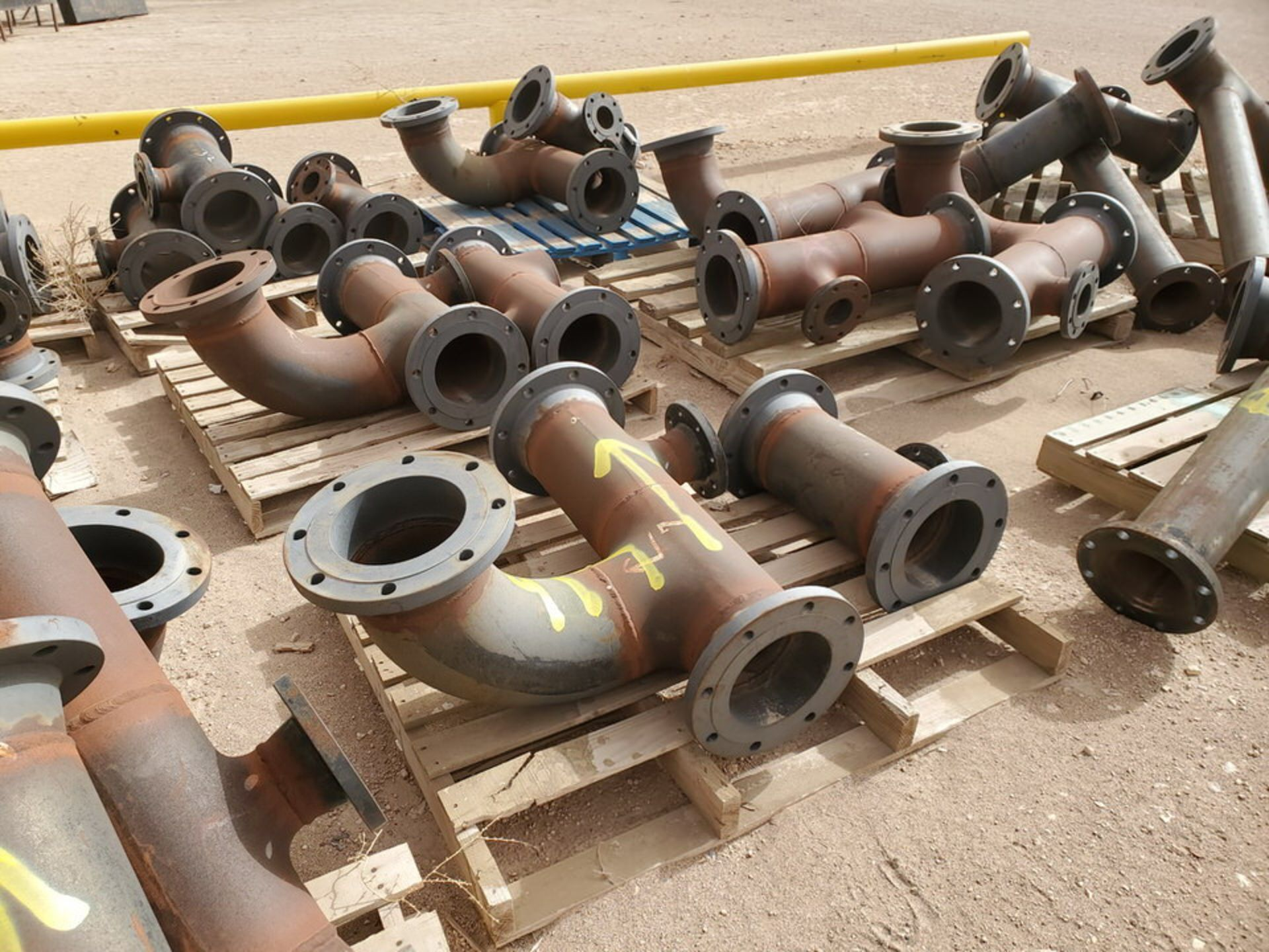 """(29) Flanged Pipe 22"""" - 82""""L - Image 4 of 15"""