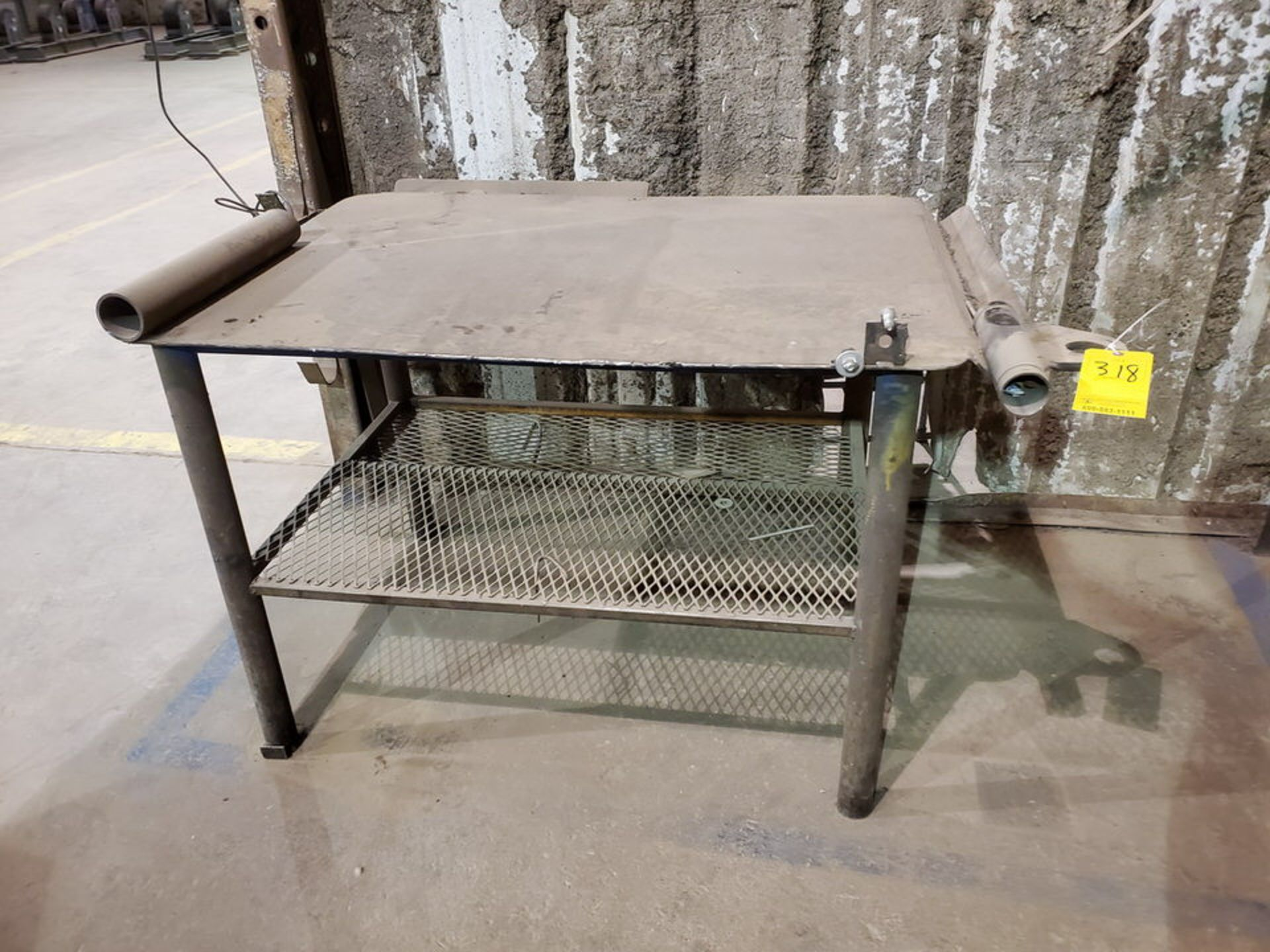 """Stl Welding Table 40"""" x 53"""" x 34""""H - Image 2 of 4"""
