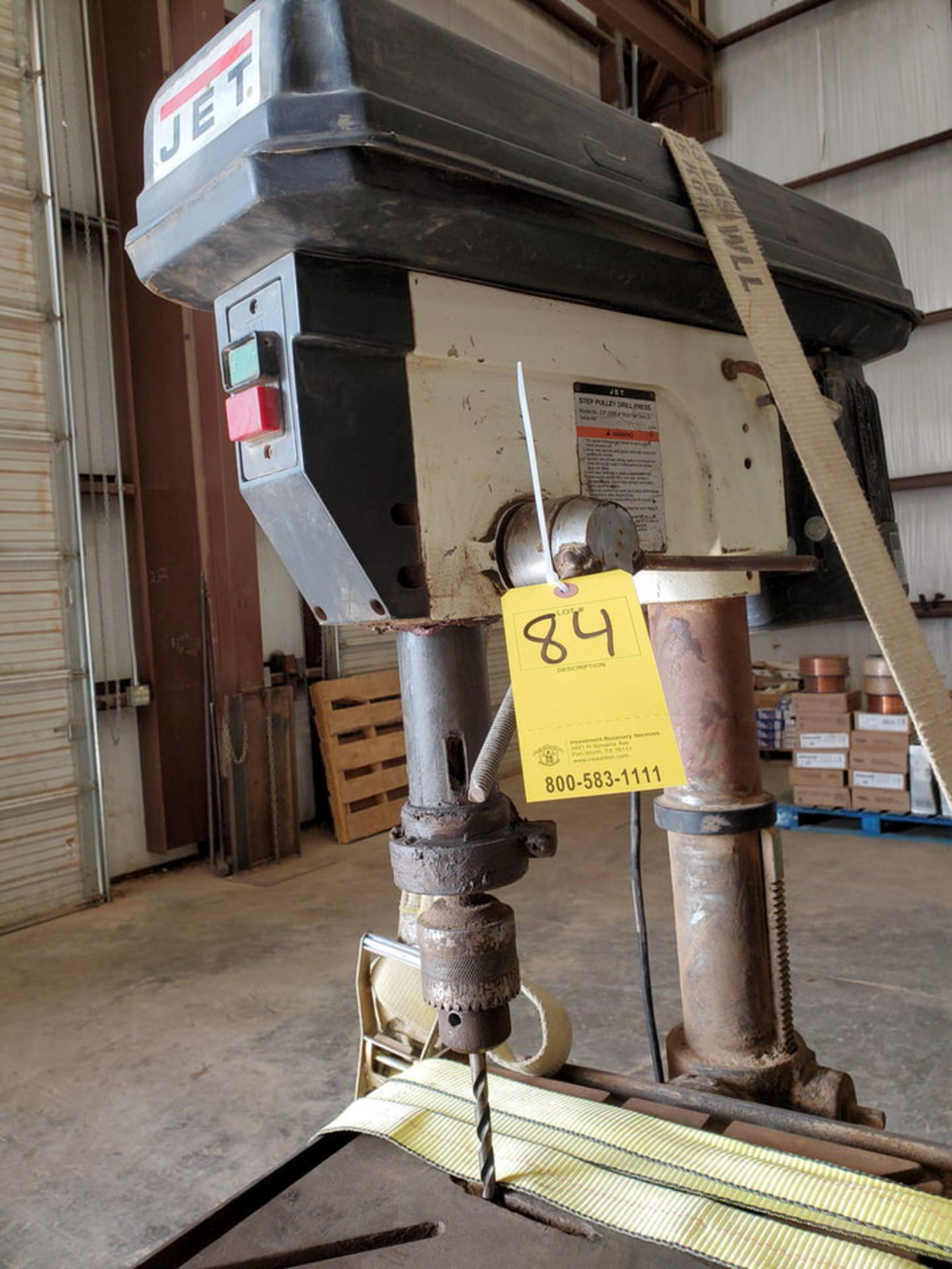"JDP-20MF 20"" Drill Press 115/230V, 1-1/2HP, 1720RPM, 1"" Drilling Cap.; 16"" x 18"" Work Table - Image 4 of 8"