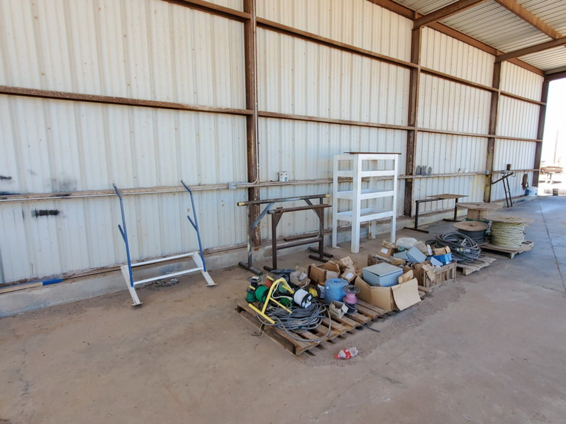 Misc. Matl. To Include But Not Limited To: Lift Basket, Welding Table, Sheet Metal, Ele Wire, Rope - Image 13 of 13