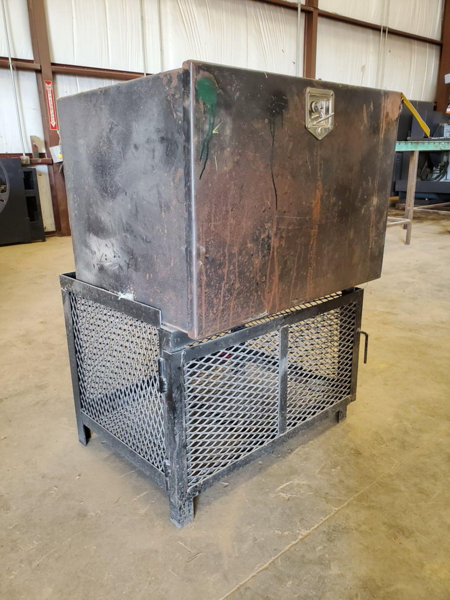 "Material Storage Unit 25"" x 34"" x 48""H"