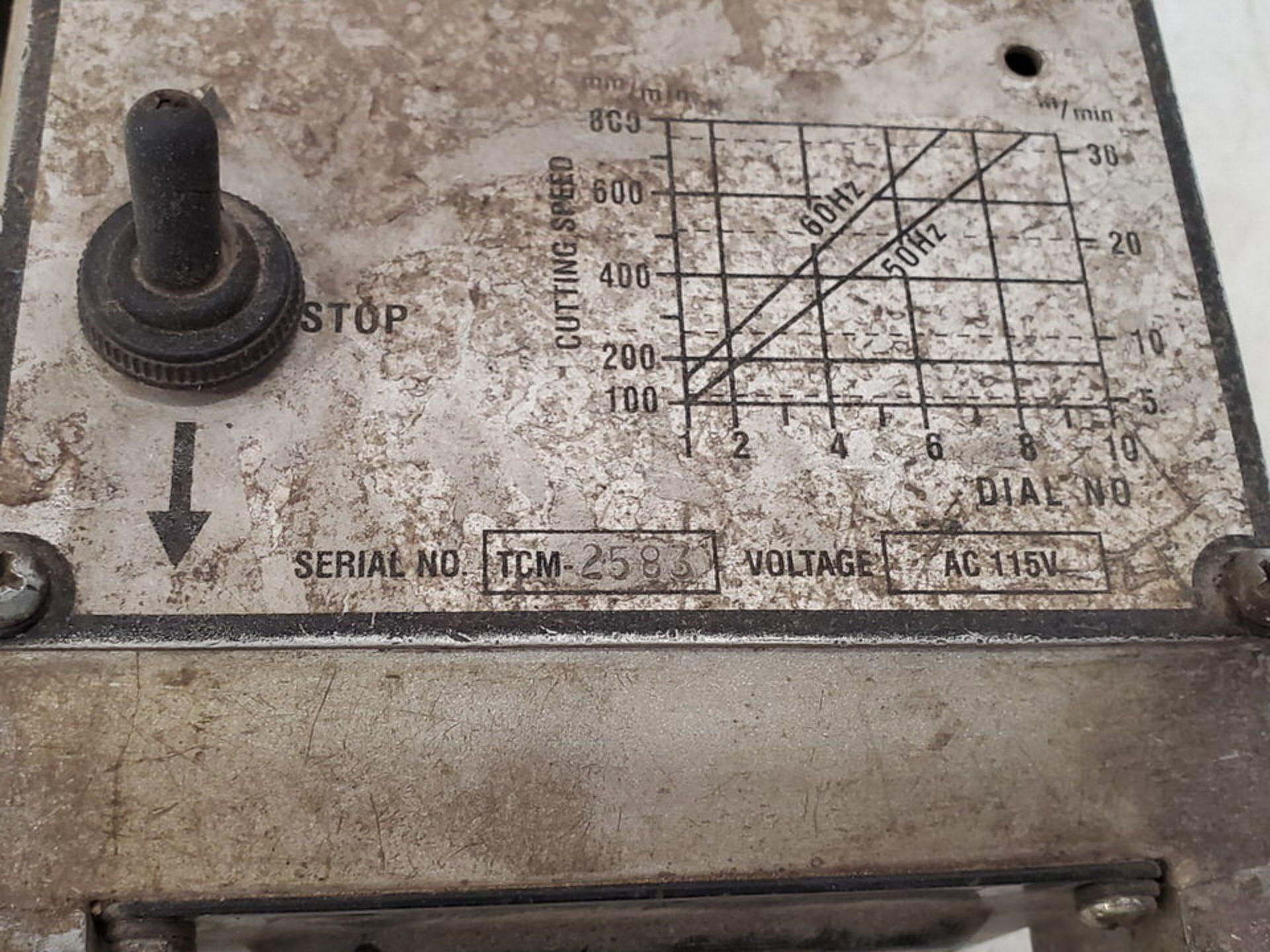 Profax Portable Track Cutting Machine 115V - Image 5 of 5