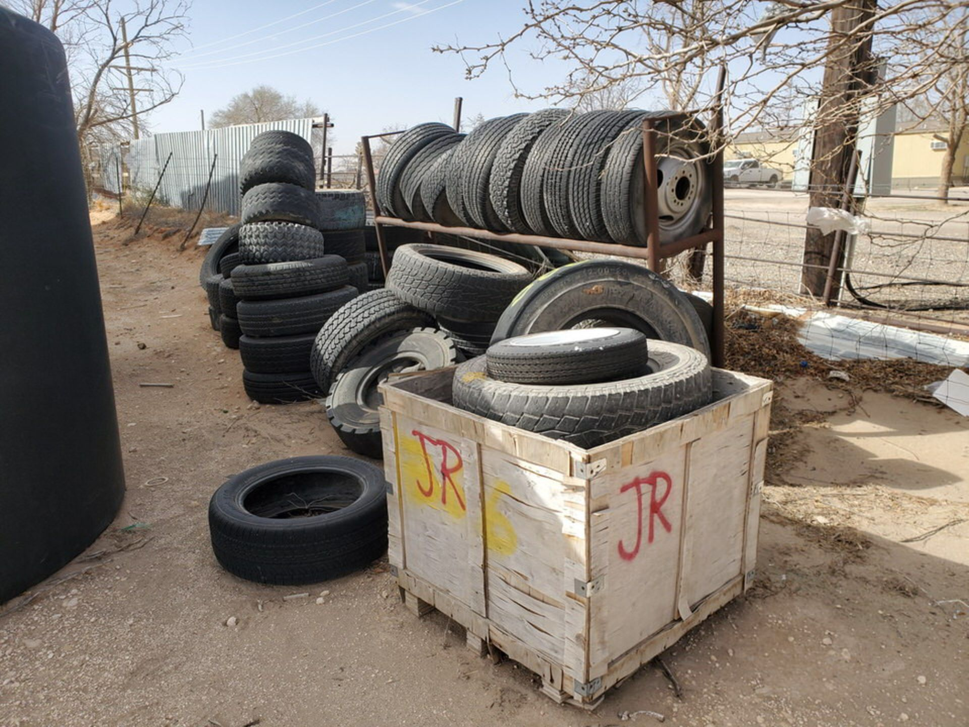 Assorted Tires W/ Rack - Image 2 of 9
