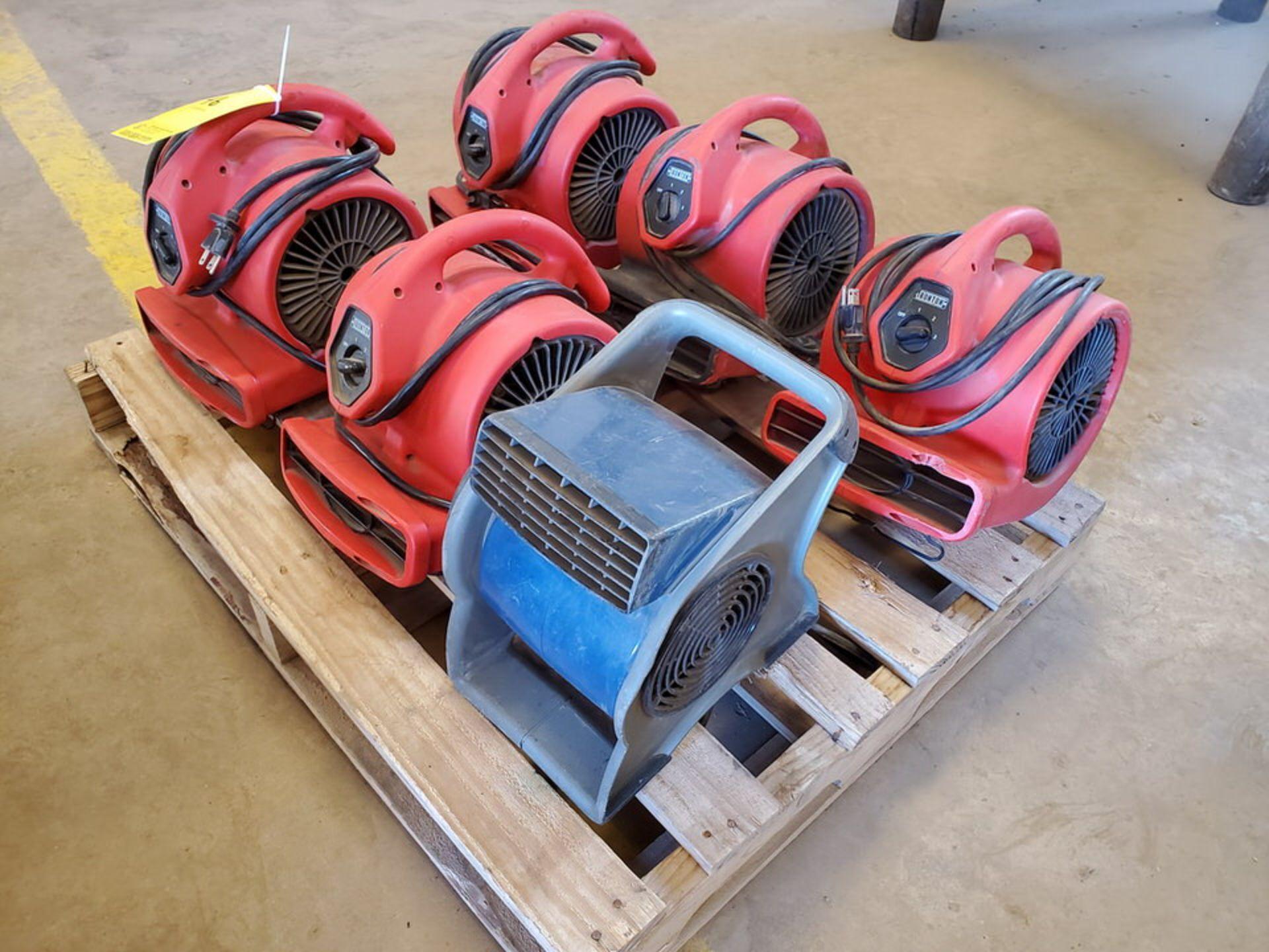 Ironton & Lasko (6) Air Blowers (5) 115V,1/8HP, 60HZ, 1.5A; (1) 120V, 60HZ - Image 3 of 4