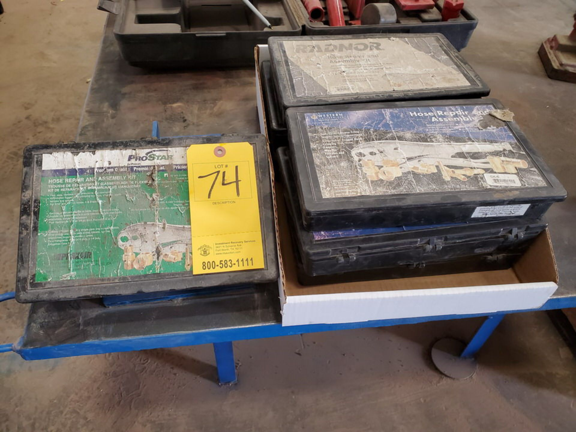 Radnor & Frostar (7) Hose Repair & Assy Kits - Image 4 of 4
