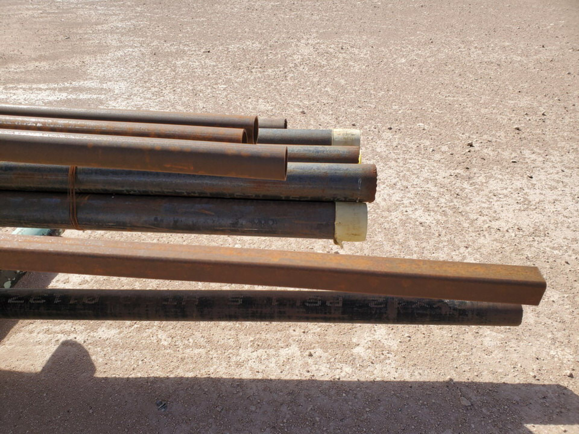 """(25) Pipe, Sq. Tube & Other D: 1-1/2""""-4""""; L: 15'-21'; W/ Racks - Image 11 of 14"""