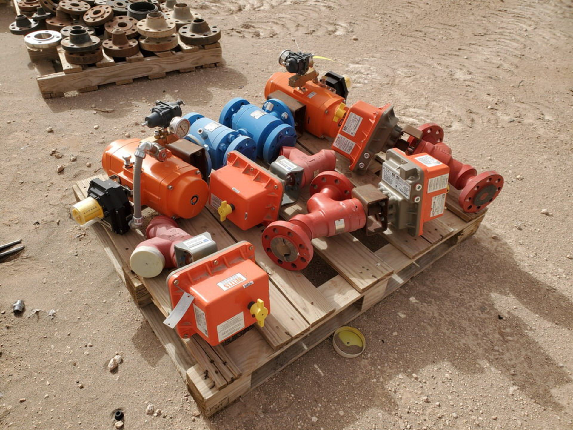 """GWC Assorted Actuated Valves (2) 2"""" x 2"""" 600# Ball Valves W/ Bettis Actuators; W/ (4) Taylor 2"""" 600# - Image 4 of 9"""