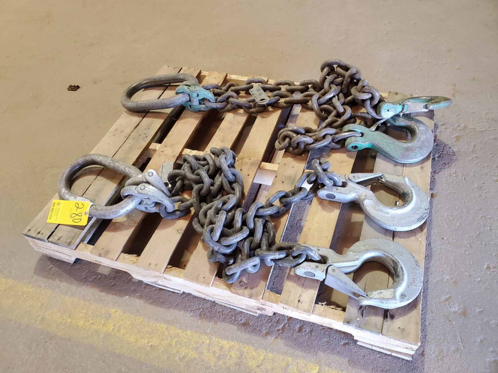 Hvy Duty Lifting Chains - Image 6 of 7