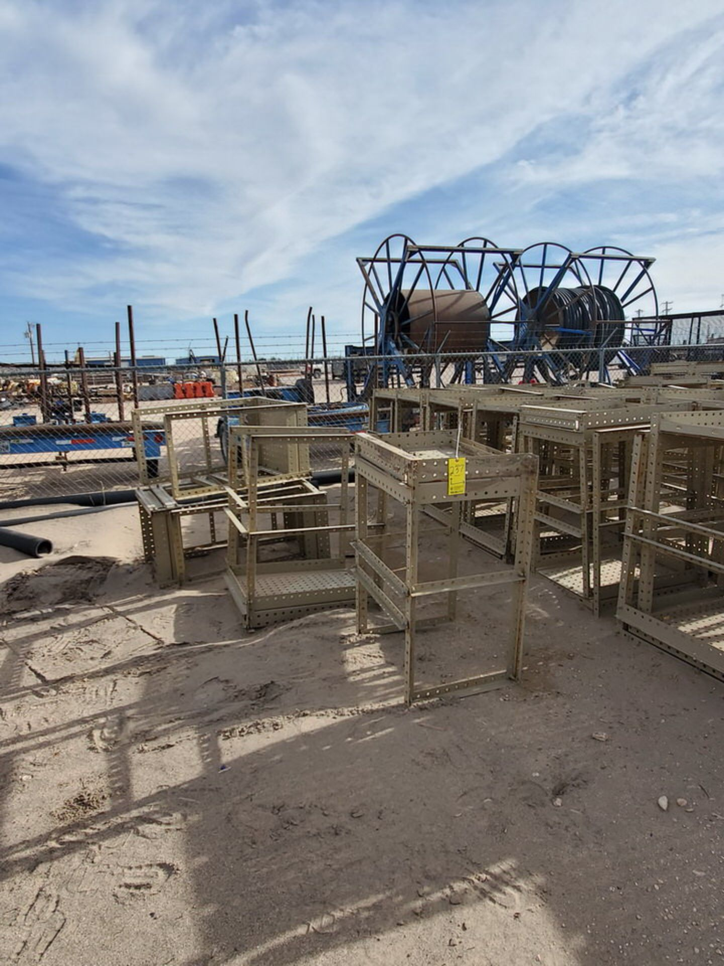 Disassembled Catwalk Sections