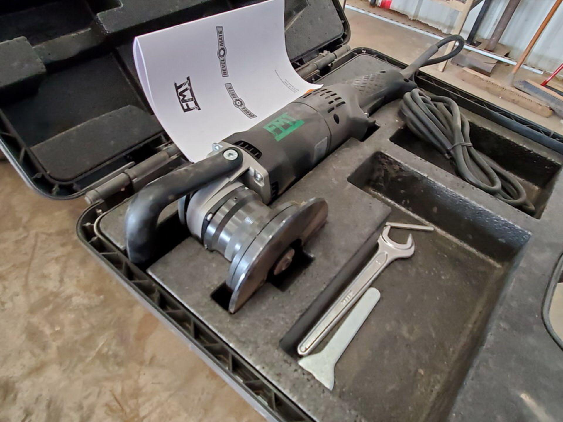 FMT EBA-12S 6-Speed Handheld Bevel Mate 120V, 12A, 60HZ - Image 2 of 5