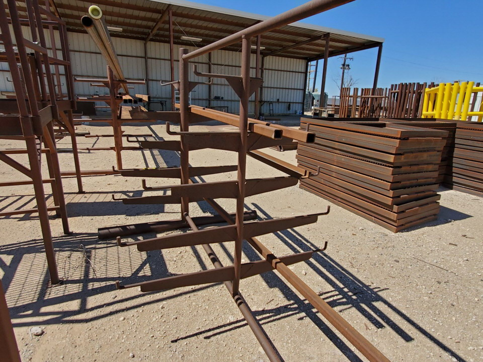 """(3) 3-Post Doublesided Cantilever Racks (2) 10' x 6' x 6'6"""", (1) 17' x 7' x 6'6"""" - Image 8 of 17"""