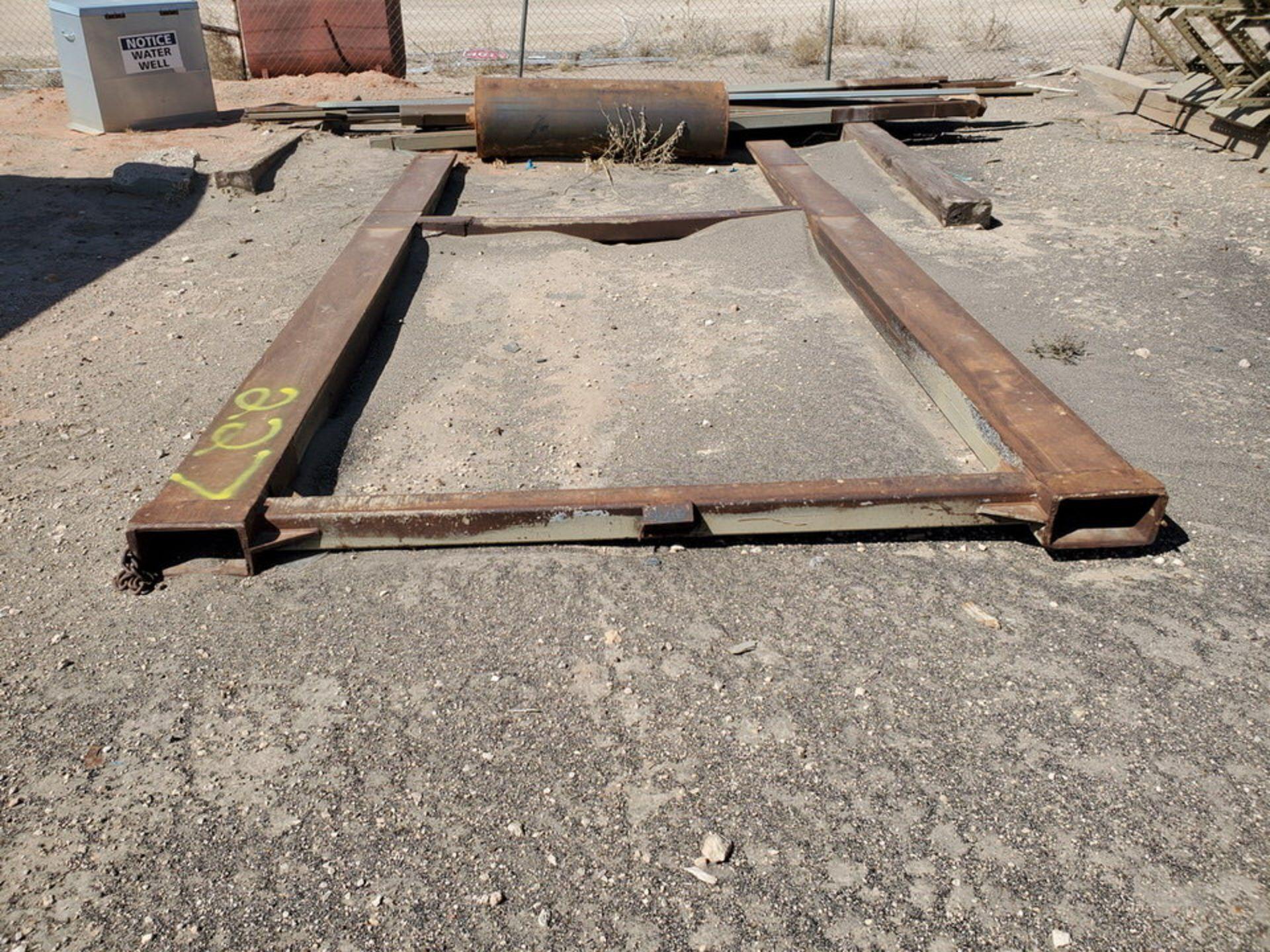 """Forklift Attechment 15'8"""" x 7'11"""", 9-1/2"""" Forks I.D. - Image 2 of 8"""