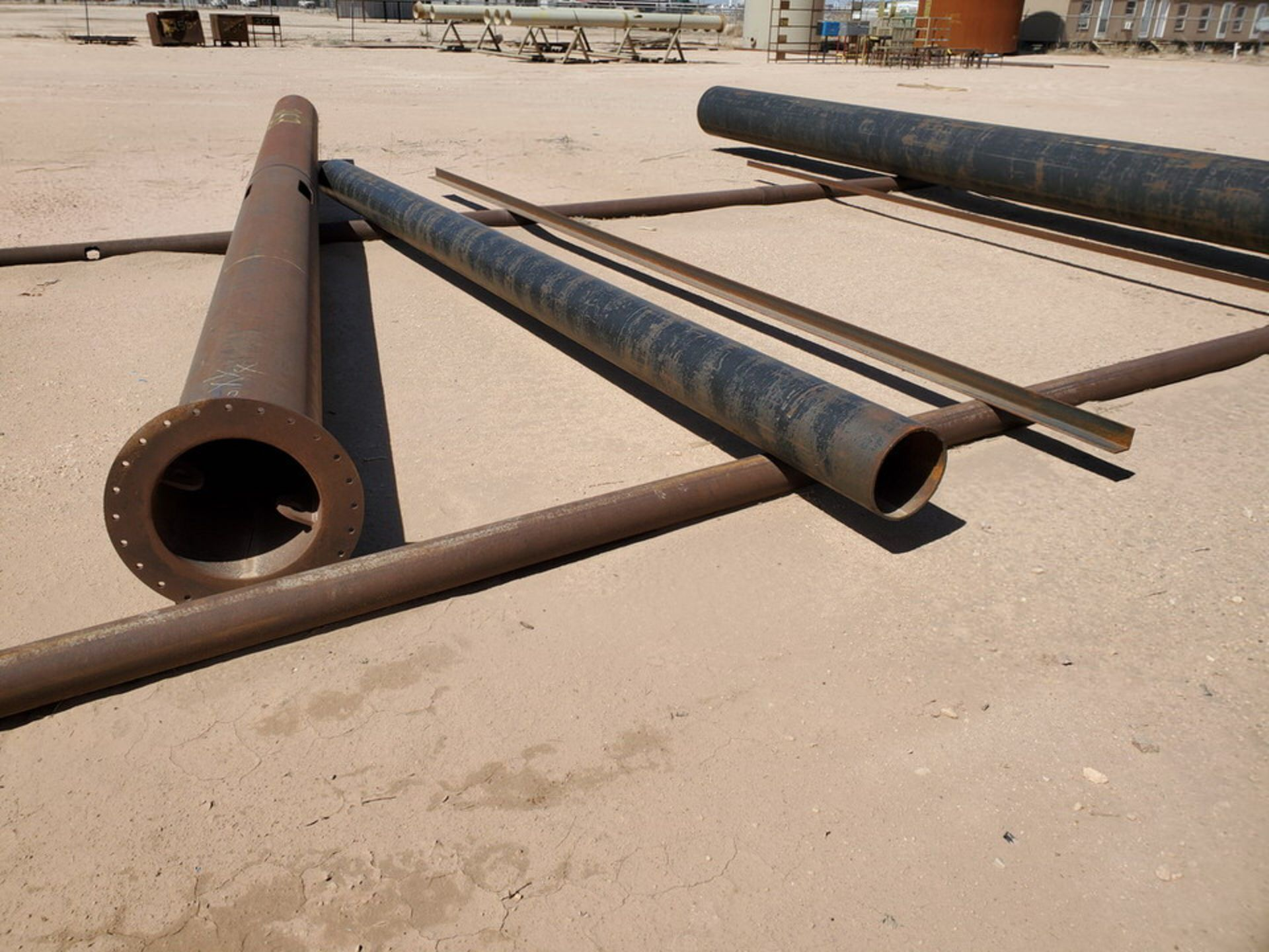 Assorted Stl Material To Include Butg Not Limited To: Pipe, Angle, Sq. Tubing, etc.; Size Range: - Image 12 of 12