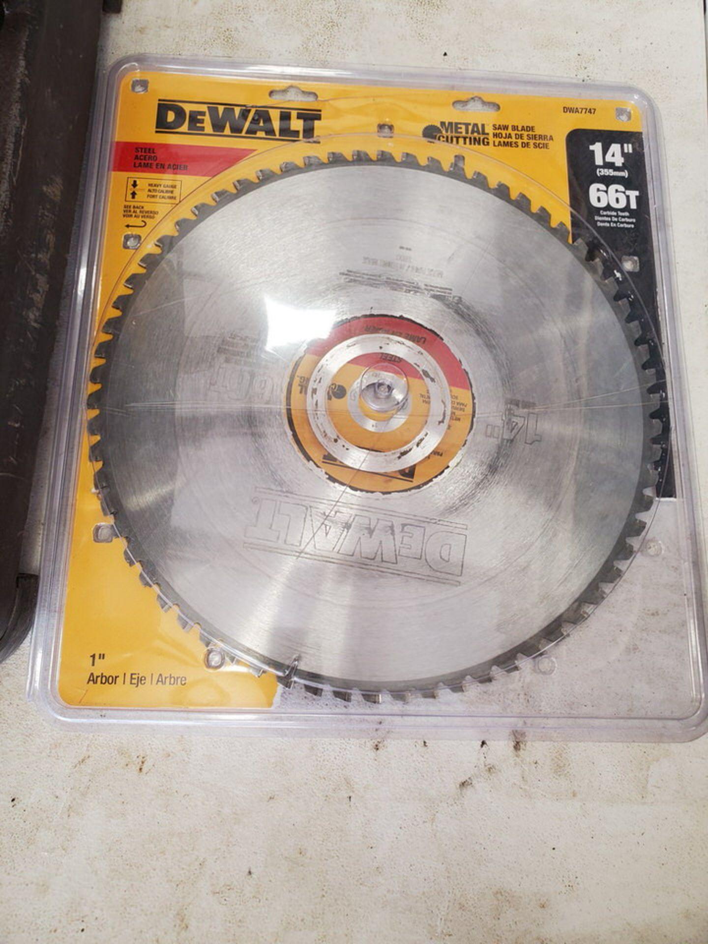 """Dewalt 14"""" Chop Saw 120V, 15A, 1300RPM - Image 3 of 4"""