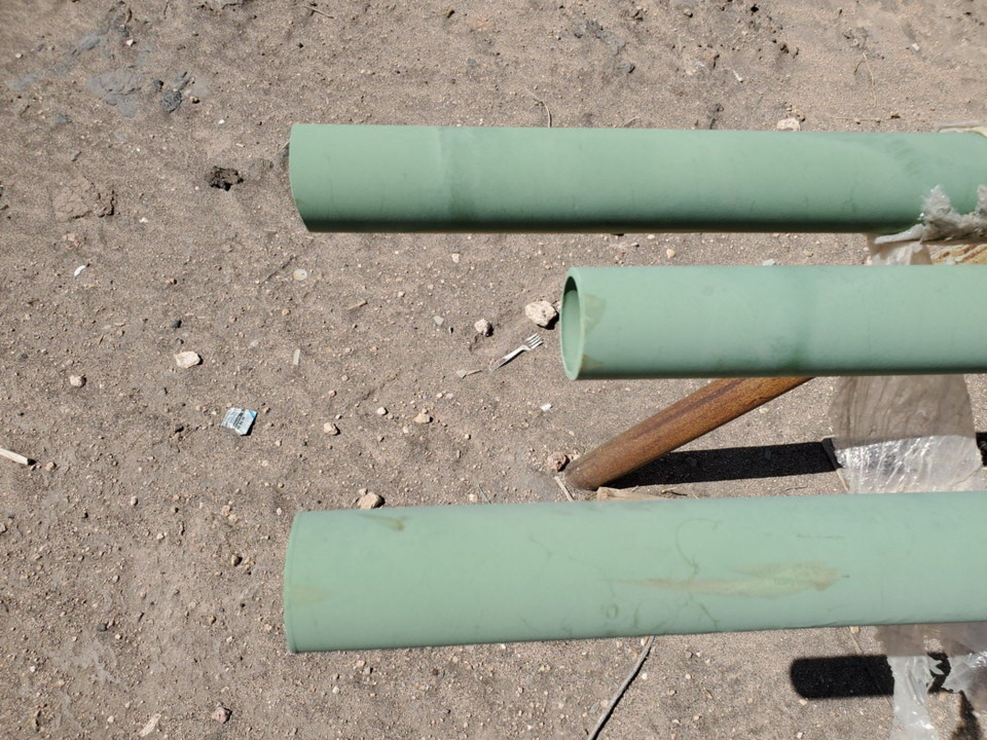 "(3) 2"" Pipe 19'2"" - Image 7 of 7"