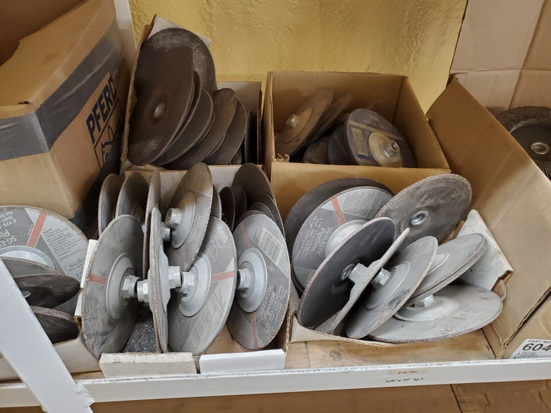 Radnor, LE Welding Accessories To Include But Not Limitied To: Grinding, Cutting & Flap Discs, - Image 23 of 24