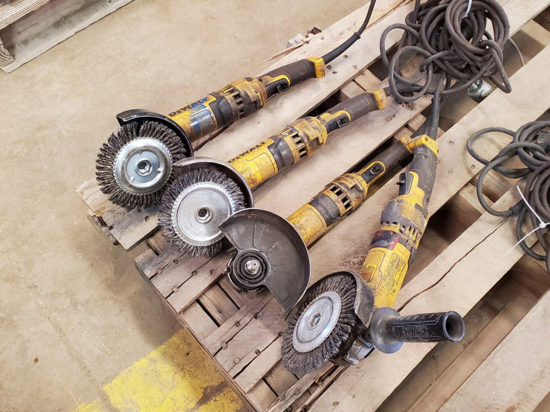 """Dewalt (4) 6"""" Angle Grinders 120V, 12A - Image 4 of 5"""