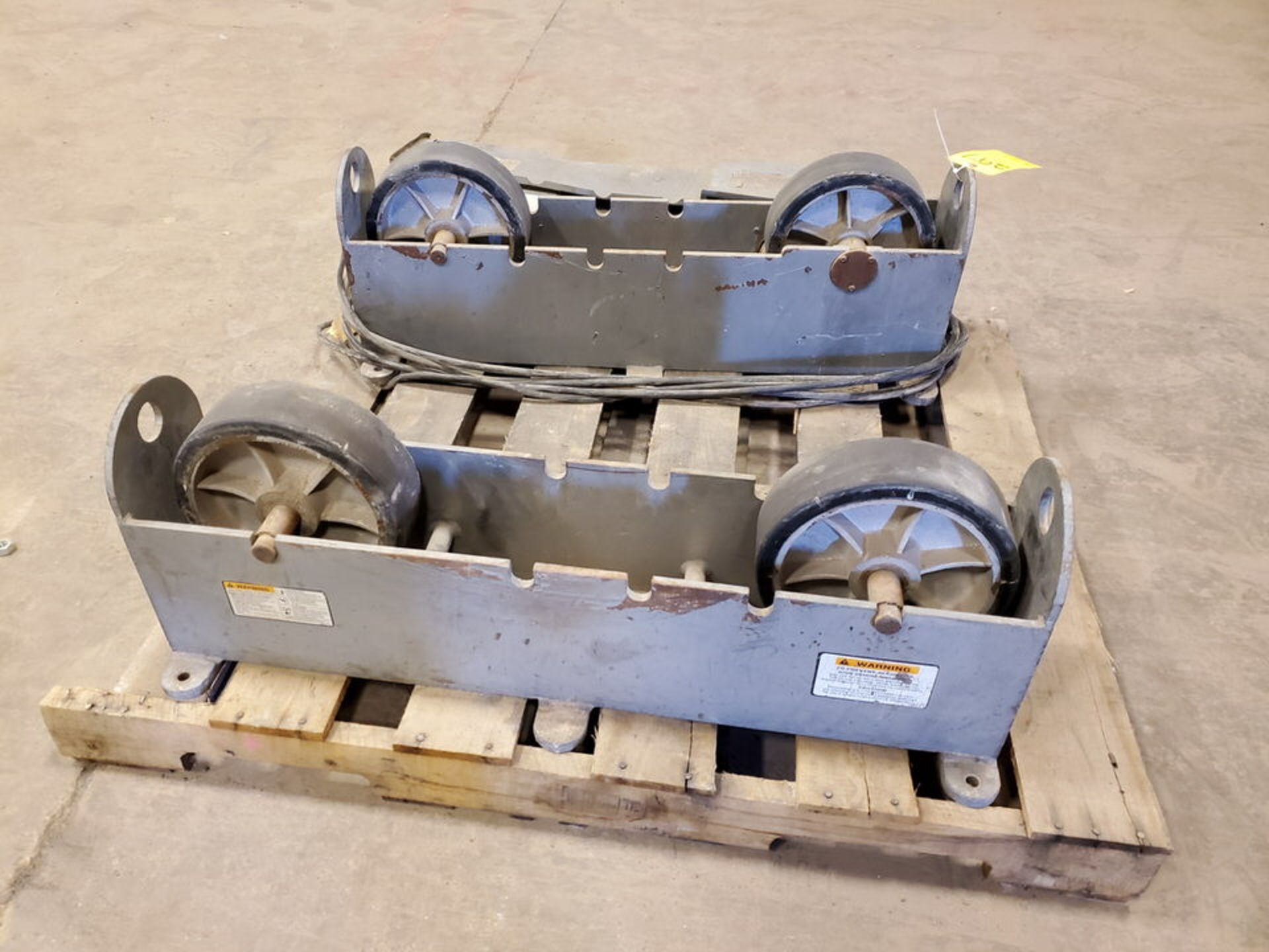 "Profax TR-5000 Turn Roll 5K Cap., 115V, 10A, 50/60HZ, 1PH, RPM: 0-5; 3"" Wheel Dia. - Image 4 of 7"