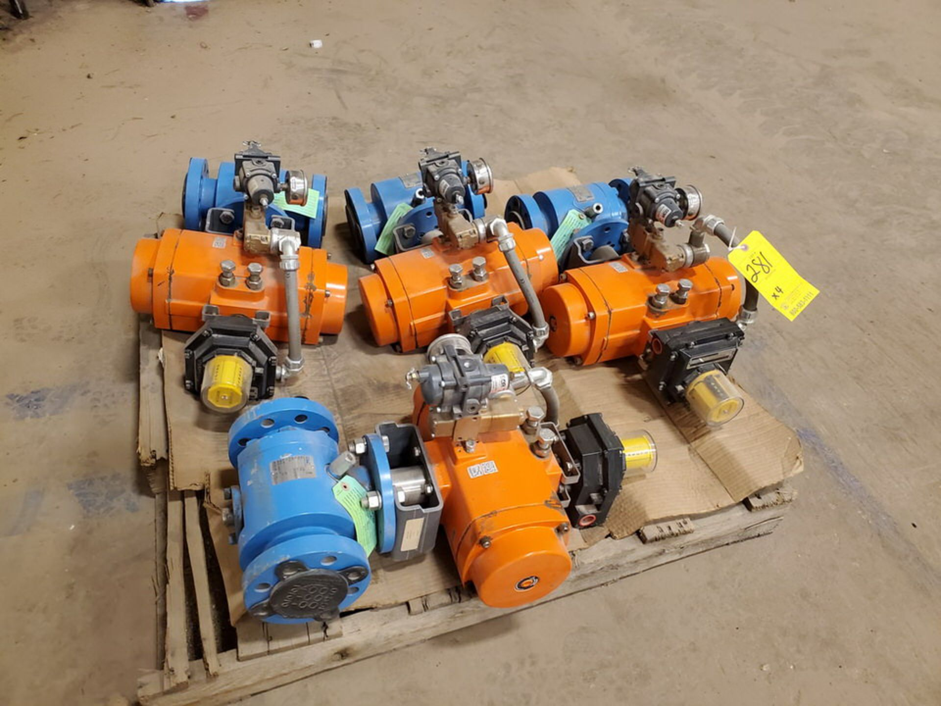 "2018 GWC (4) 2"" x 2"" Actuated Ball Valves 600 Class, 1480psi@-20F, 1310psi@300F - Image 3 of 6"