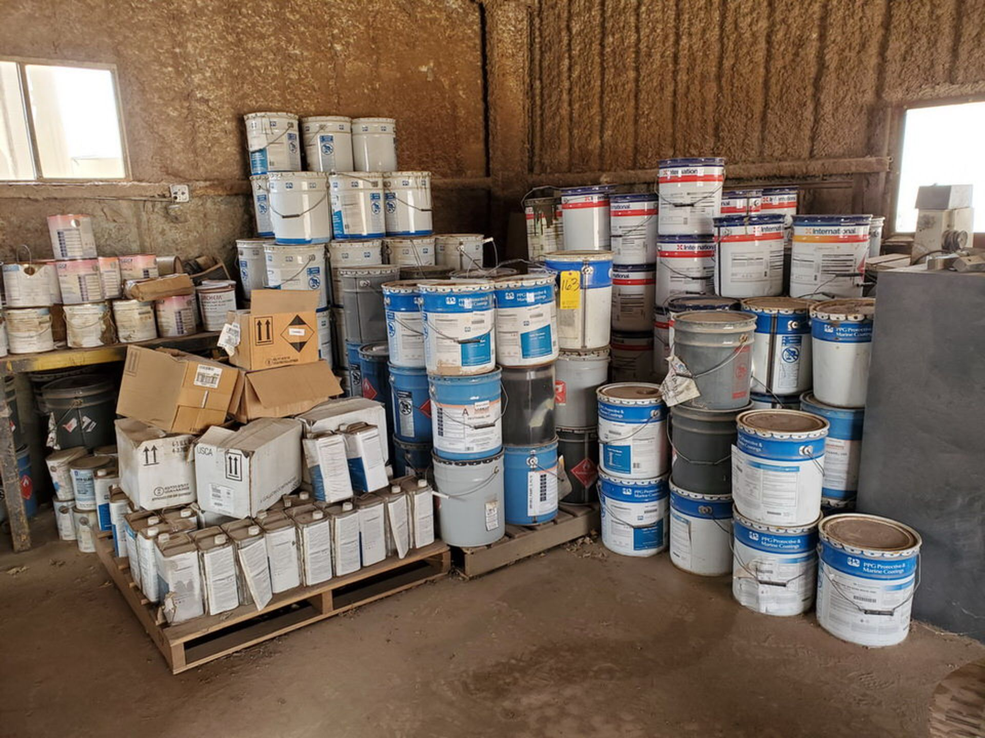 Assorted Paints & Marine Coatings Mfg's: PPG, Intl. & Other