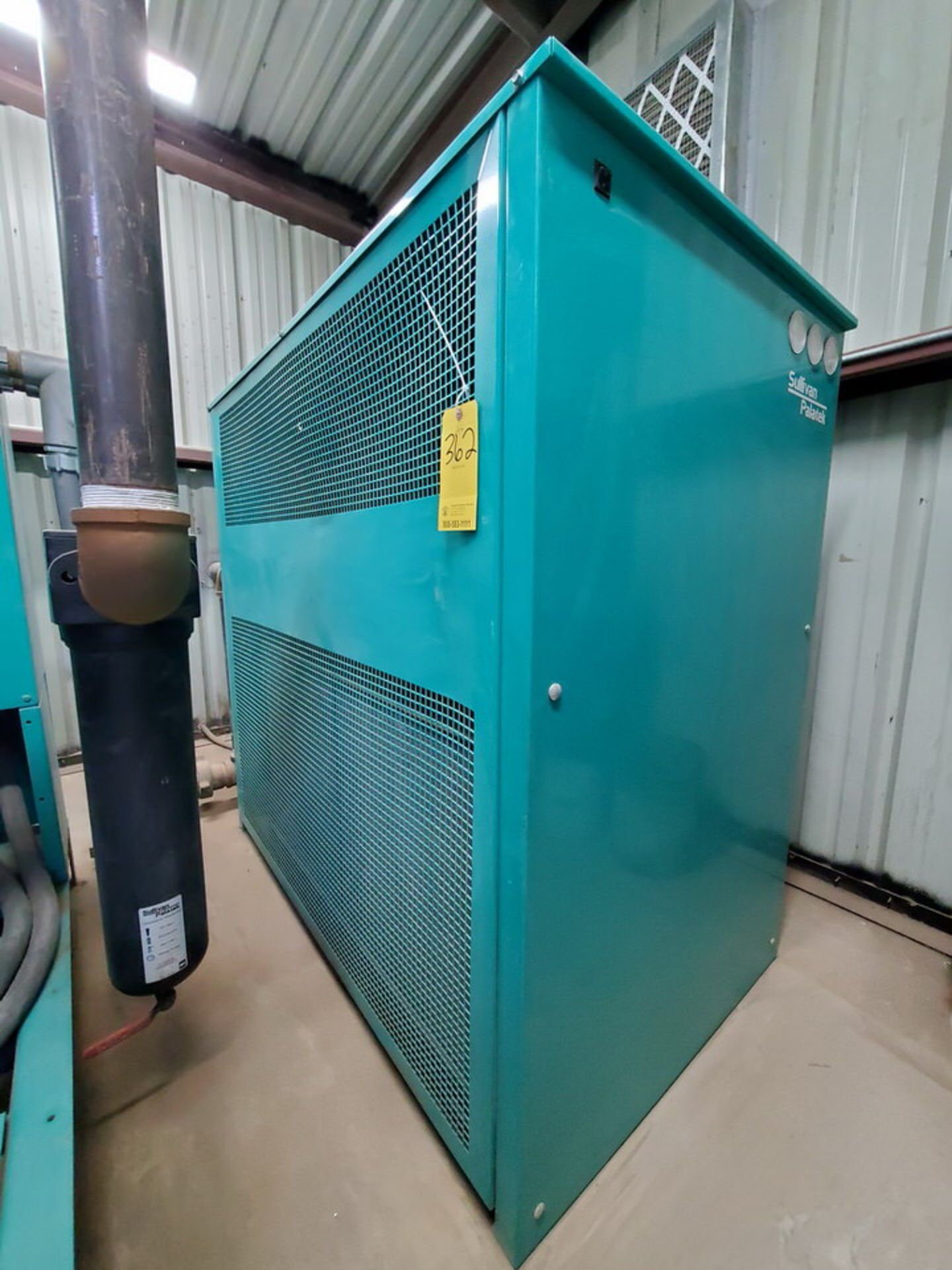 2017 Sullivan Palatek SPRF-1175A-436 Air Dryer 460V, 11.8A, 5HP, 150psi