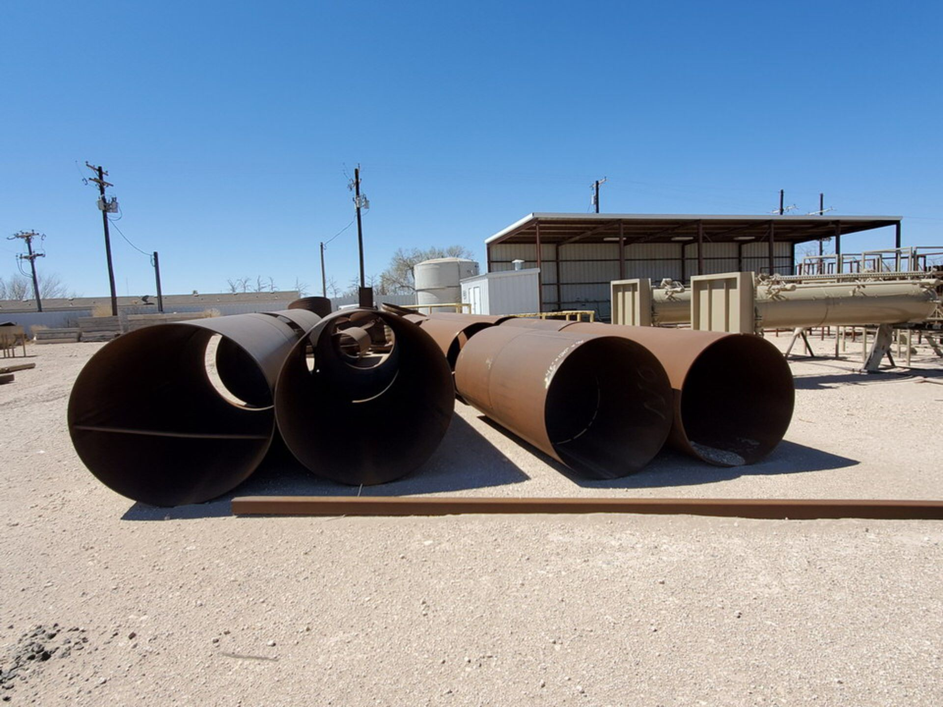 "(12) Tank Cylinders Size Range: 36"" - 60""O.D., 10' - 15'L - Image 3 of 18"