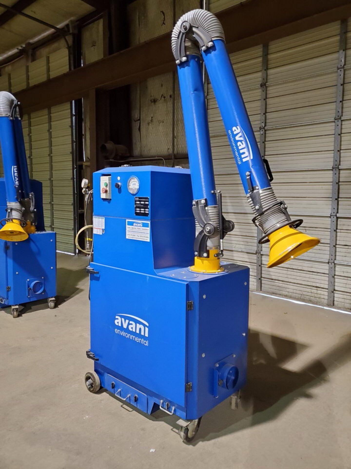 2017 Avanti SPC-2000 Portable Dust Collector 1-1/2HP, 120V, 60HZ, 1PH, 14A, 3450RPM - Image 4 of 7