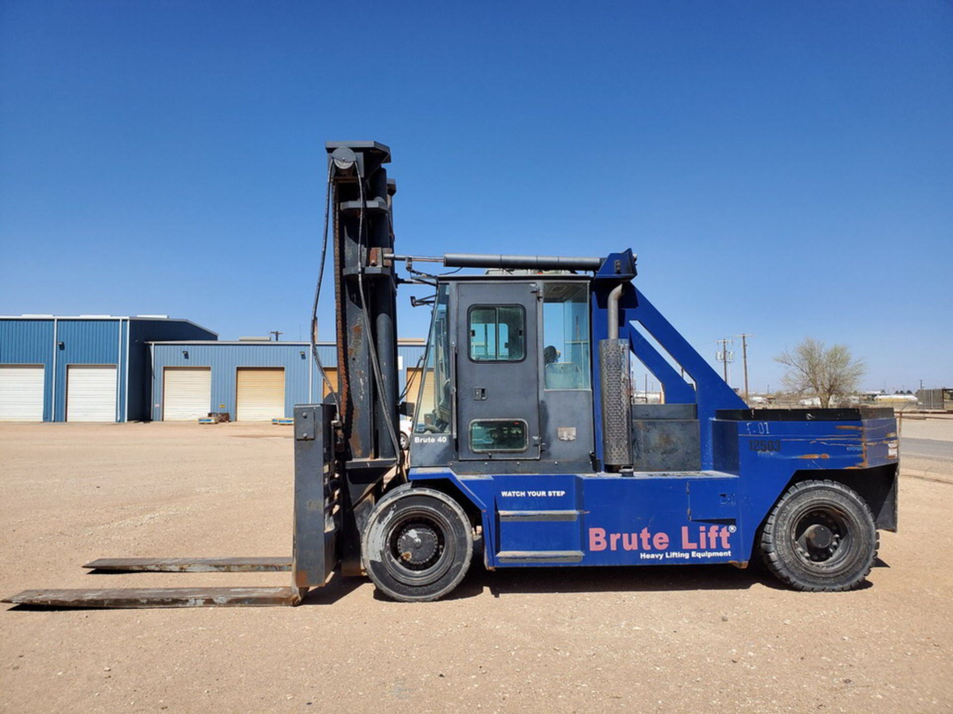2012 Brute Lift BT40-48 Forklift 40H Cap., Engine Hrs: 3,389.3 - Image 8 of 17