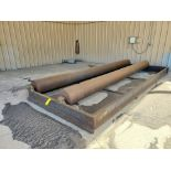 """Turn Roll 8' x 20'6"""", 16"""" O.D. Rolls, 1' Base; Overall Dims: 9'8""""W"""