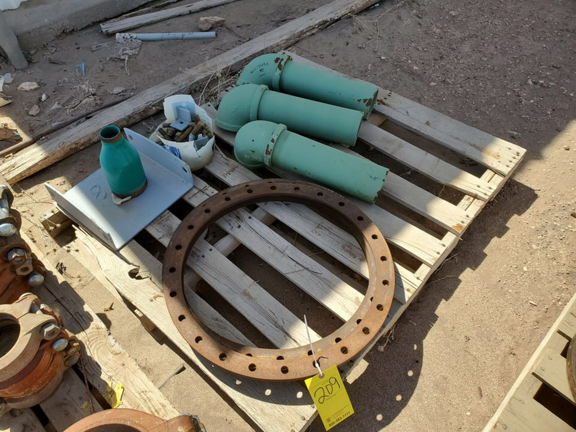 Assorted Fittings To Include But Not Limited To: Assorted Flanges, Caps, Couplings, etc.; Size - Image 6 of 14