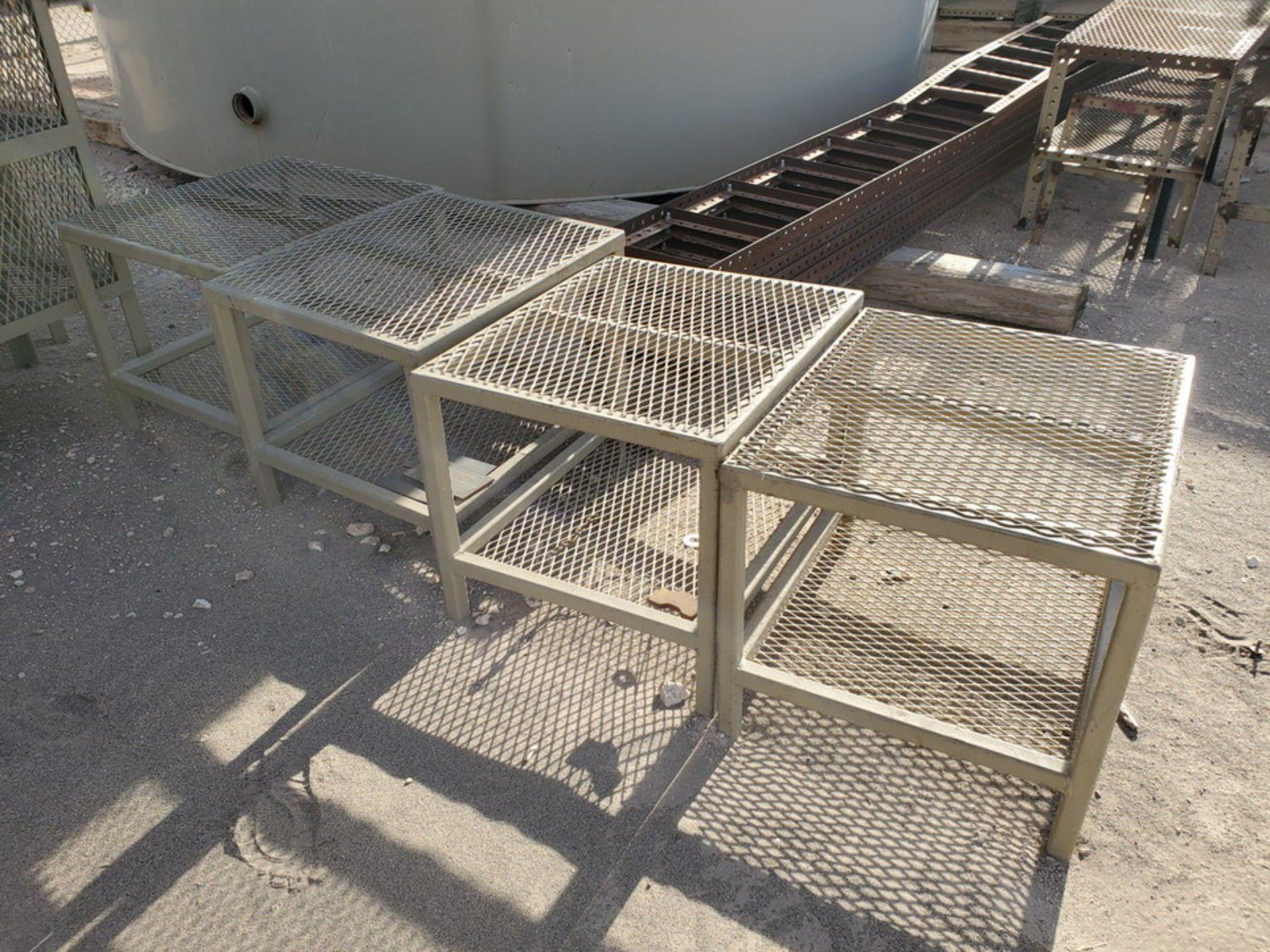 "Assorted Stl Matl. Racks & Ladders Size Range: 30"" x 26"" x 25""H - 29"" x 48"" x 50""H - Image 7 of 18"