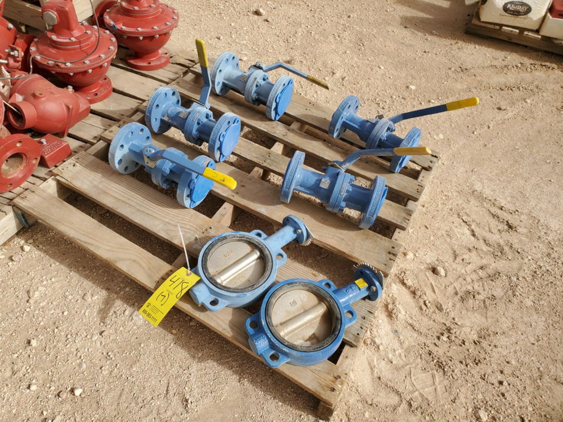 "(7) Assorted Valves (2) 6"" Wafer Butterfly, CE, 200#; (5) 2"" Virgo 600# Ball Valves - Image 2 of 9"
