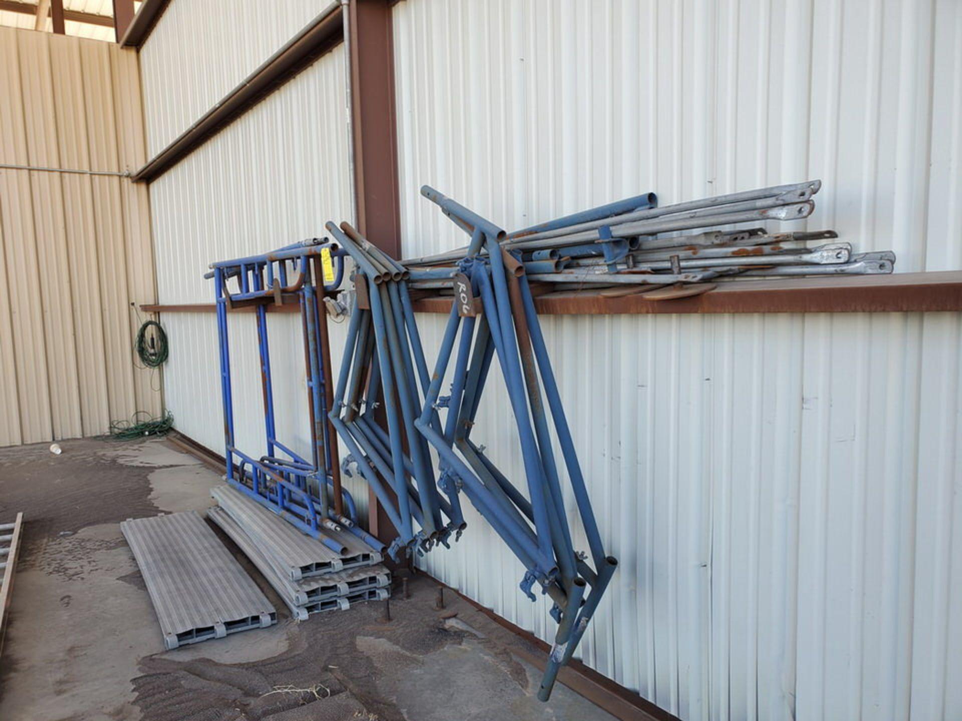 Scaffold W' 16' Fixed Alum. Ladder - Image 6 of 10