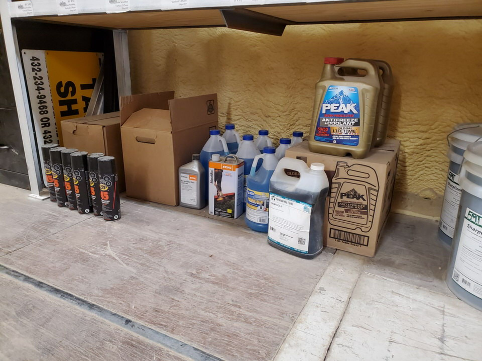 Assorted Lubricants & Fluids To Include But Not Limited To: Shell Corena Synthetic Rotary Air - Image 2 of 17