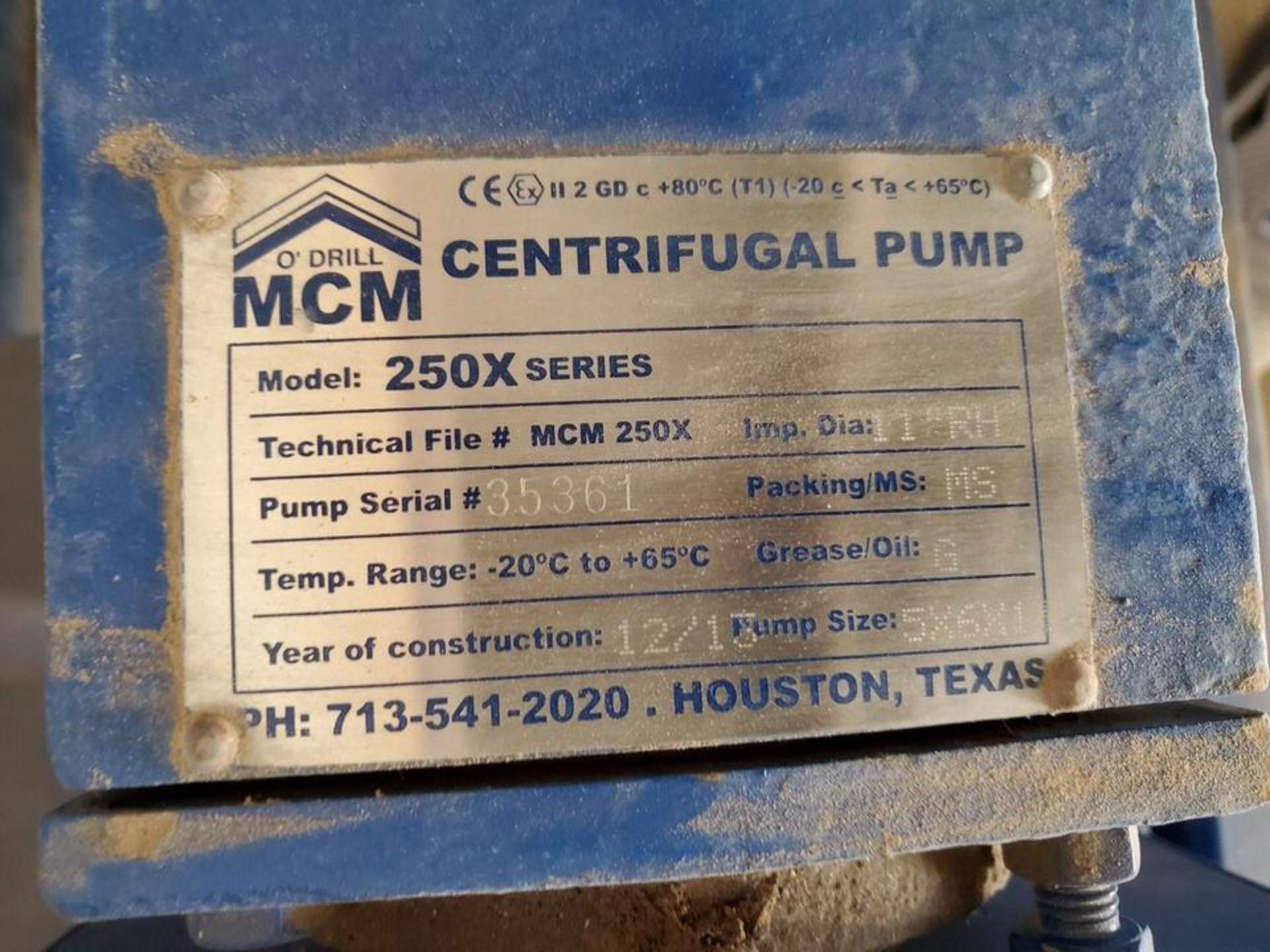 "2013 Ace 250X Series 5x6x1 Centrifugal Pump Imp Dia: 11"" RH, -20C-65C; W/ 75HP Weg Motor, 1780RPM, - Image 6 of 7"