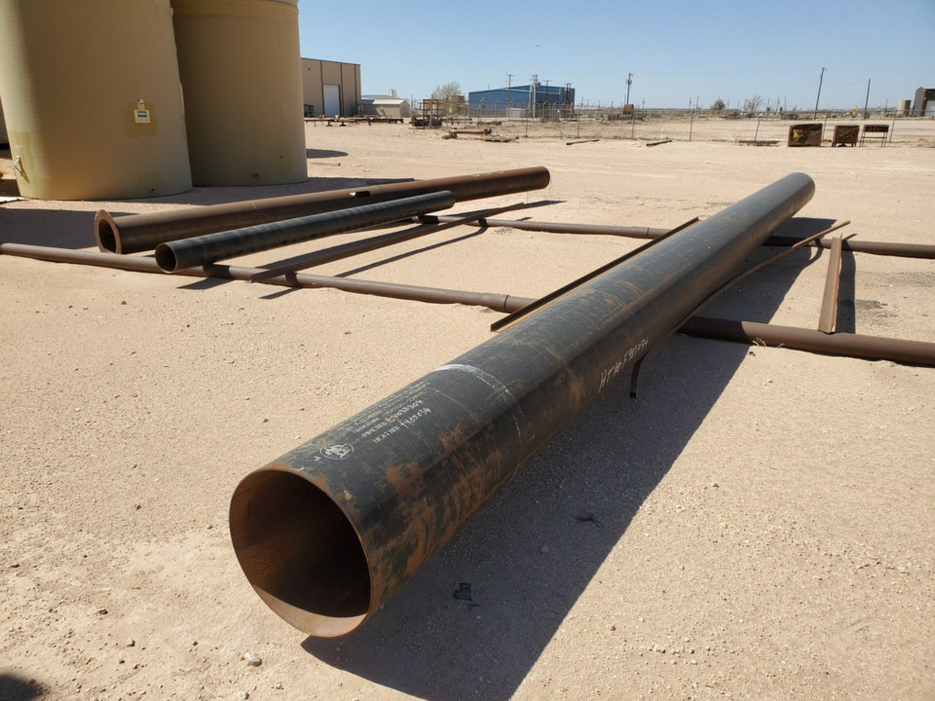 Assorted Stl Material To Include Butg Not Limited To: Pipe, Angle, Sq. Tubing, etc.; Size Range: - Image 6 of 12