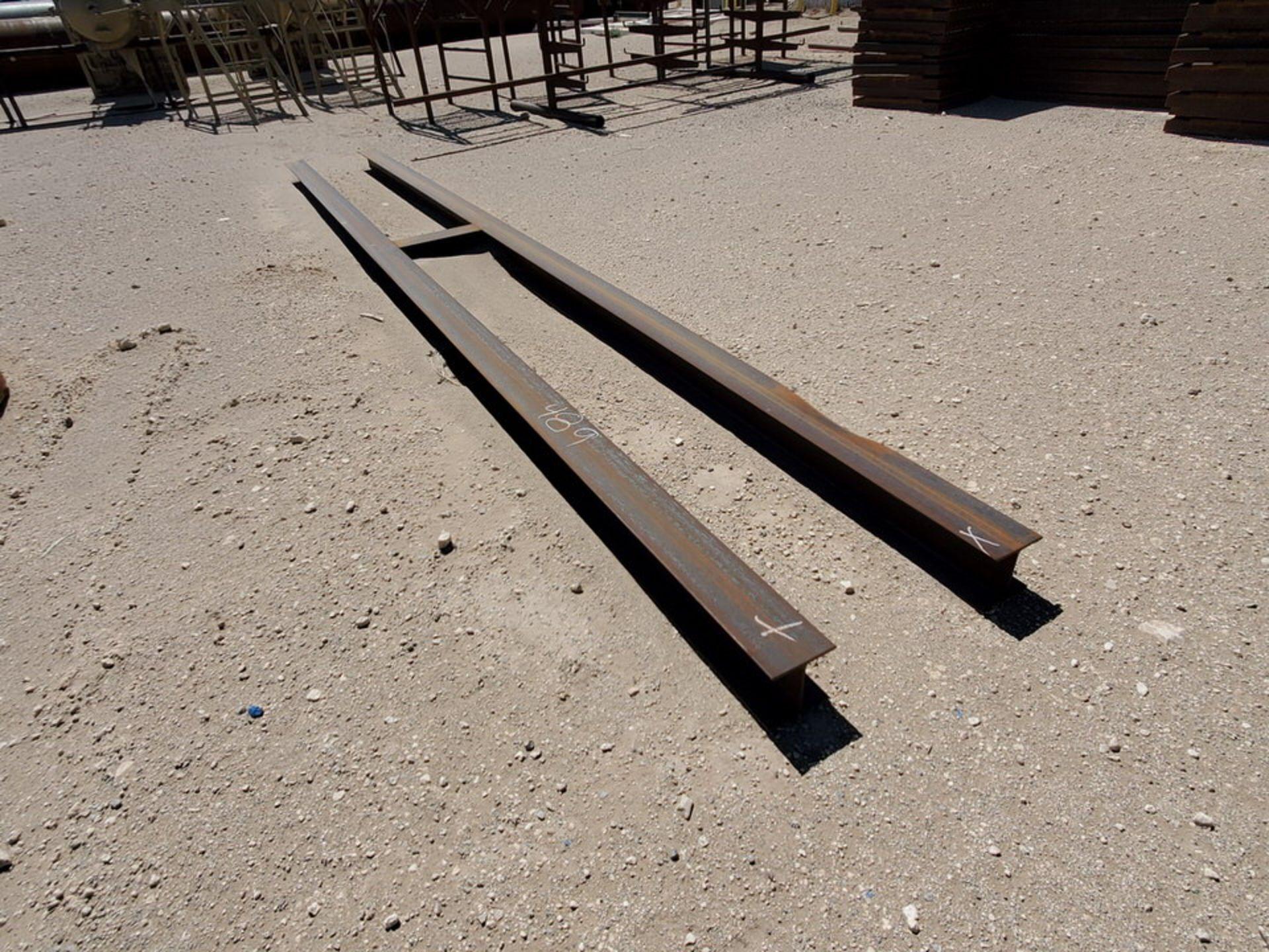 "I-Beam & Grating Size Range: 8"" - 12""Dia, 17' - 40'L W/ Racks - Image 25 of 26"