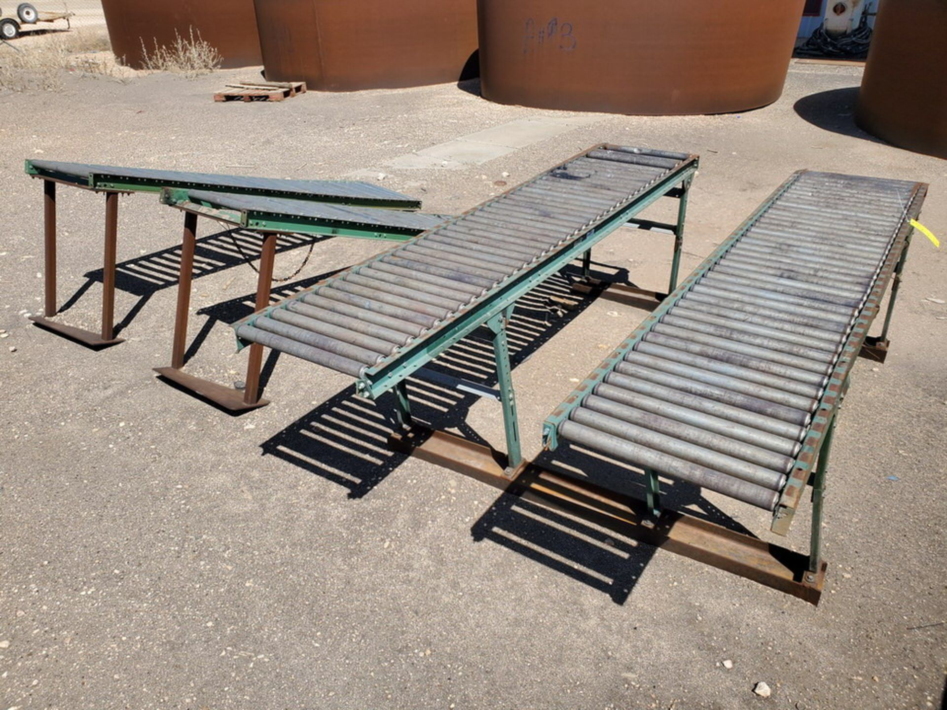 "Ashland & Other (6) Roller Conveyor 10' x 24"" - Image 6 of 7"