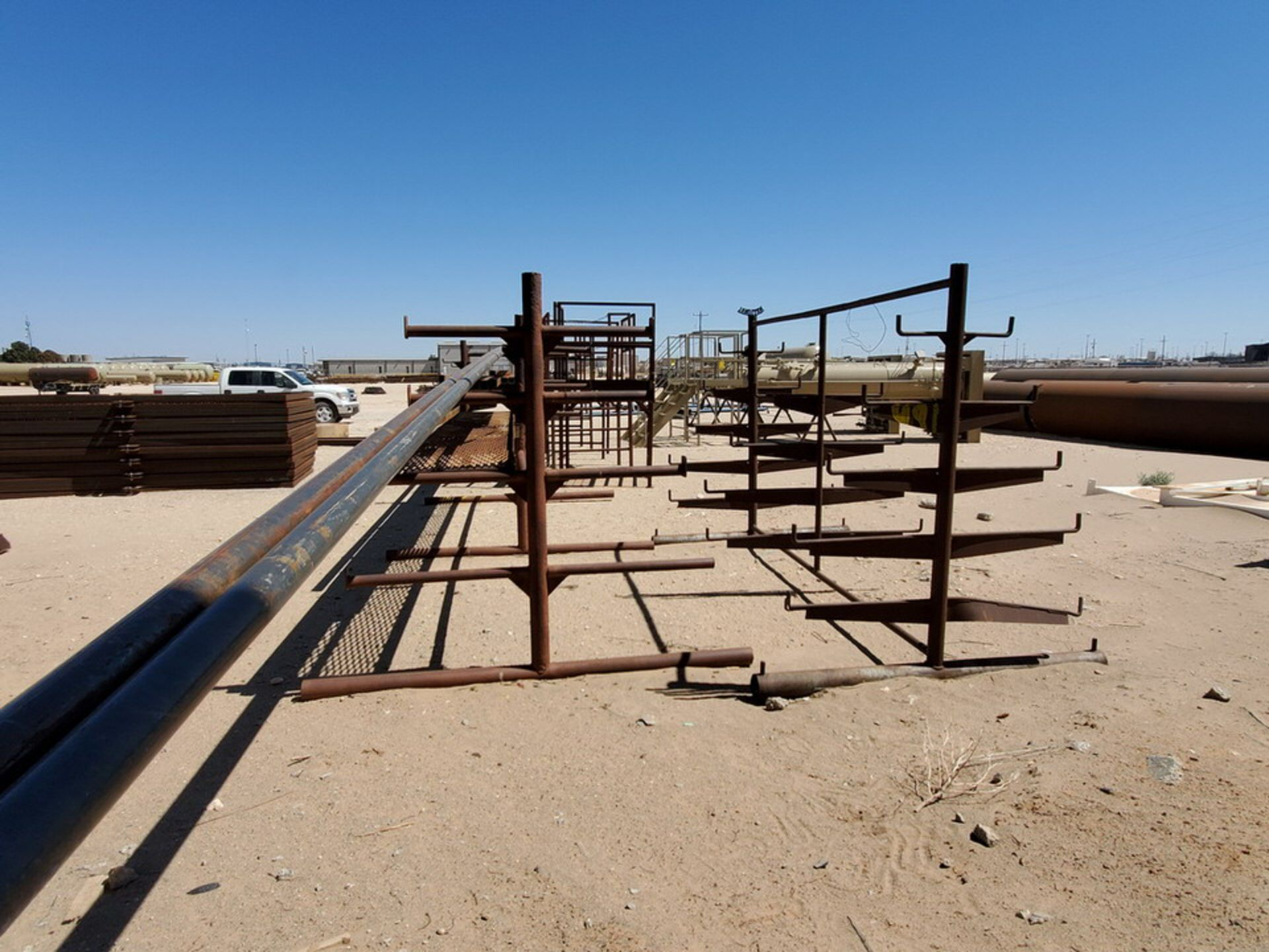 """(3) 3-Post Doublesided Cantilever Racks (2) 10' x 6' x 6'6"""", (1) 17' x 7' x 6'6"""" - Image 14 of 17"""