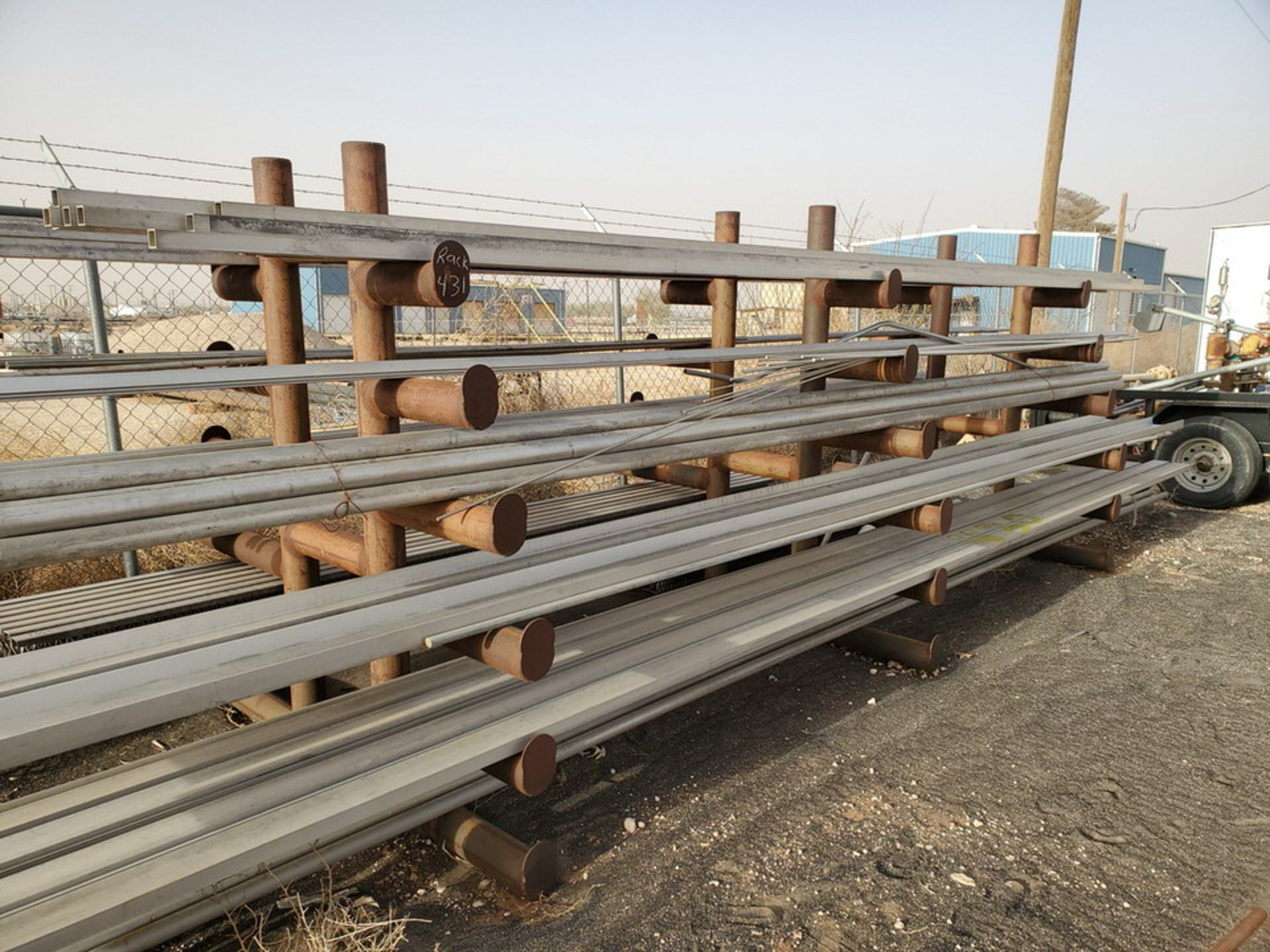 """Doublesided Cantilever Rack 15' x 6' x 6'4""""H - Image 6 of 8"""