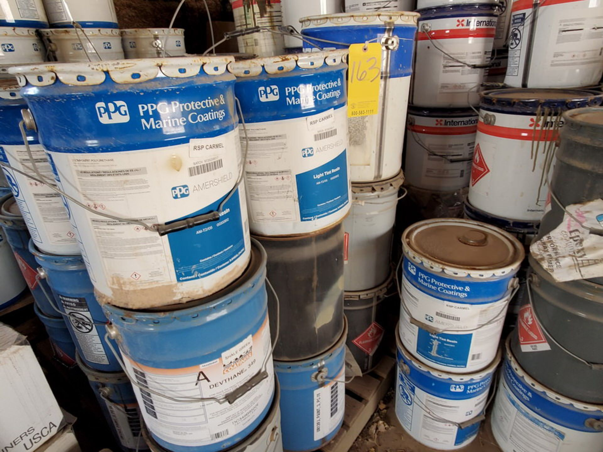 Assorted Paints & Marine Coatings Mfg's: PPG, Intl. & Other - Image 7 of 10