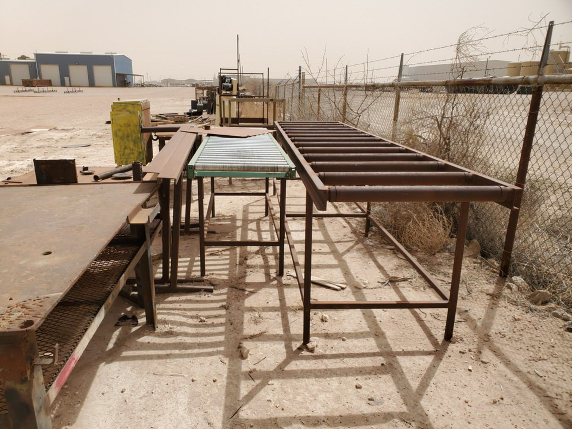 Assorted Matl. To Include But Not Limited To: (3) Welding Tables, Rolling Conveyor, Storage - Image 5 of 11